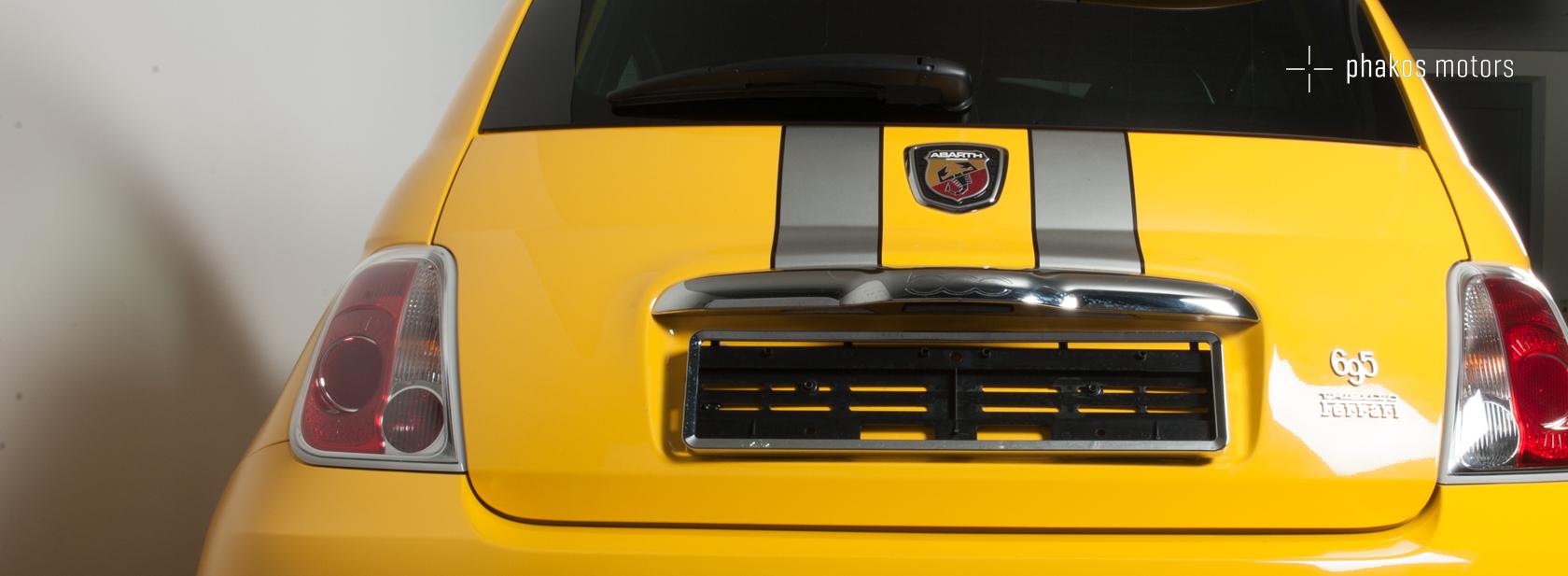 FIAT 500 ABARTH 695 TF