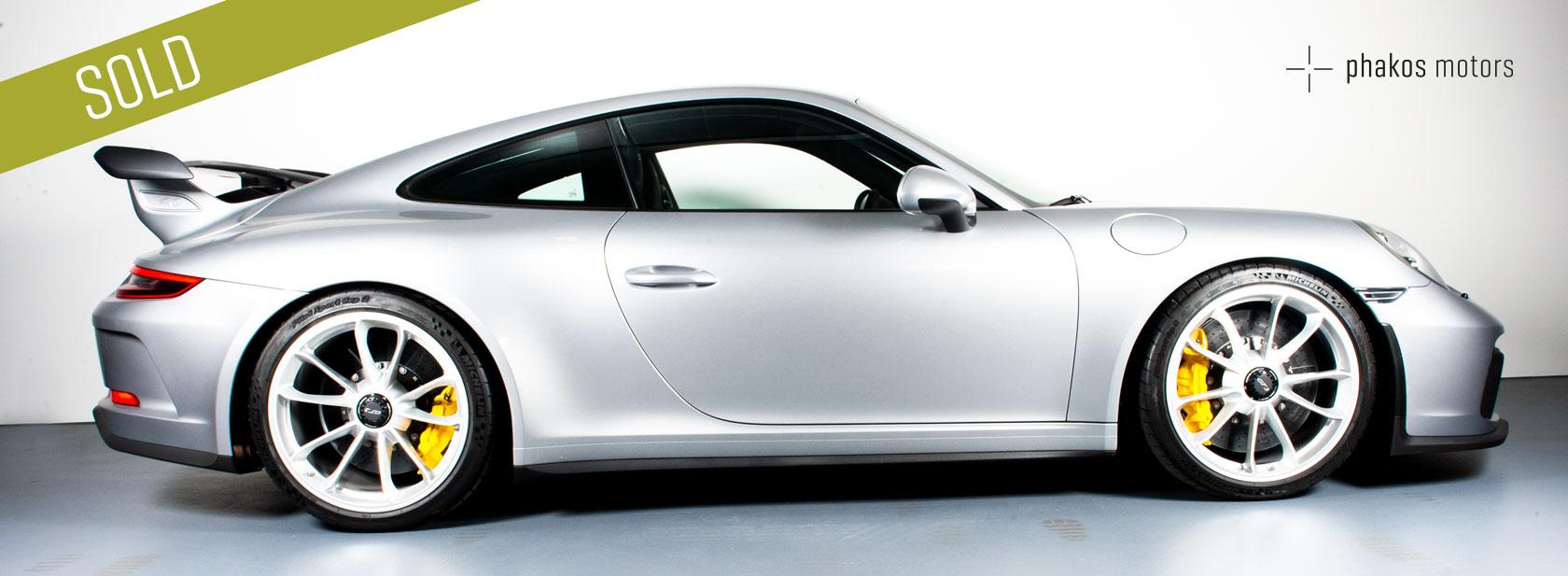 PORSCHE 911 GT3 – SOLD