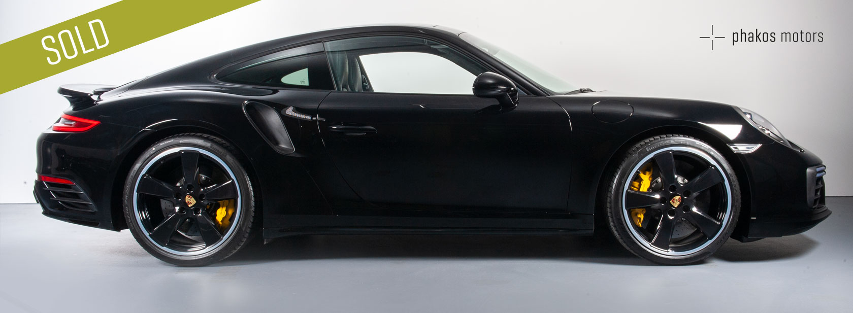 Porsche 911 Turbo S – SOLD