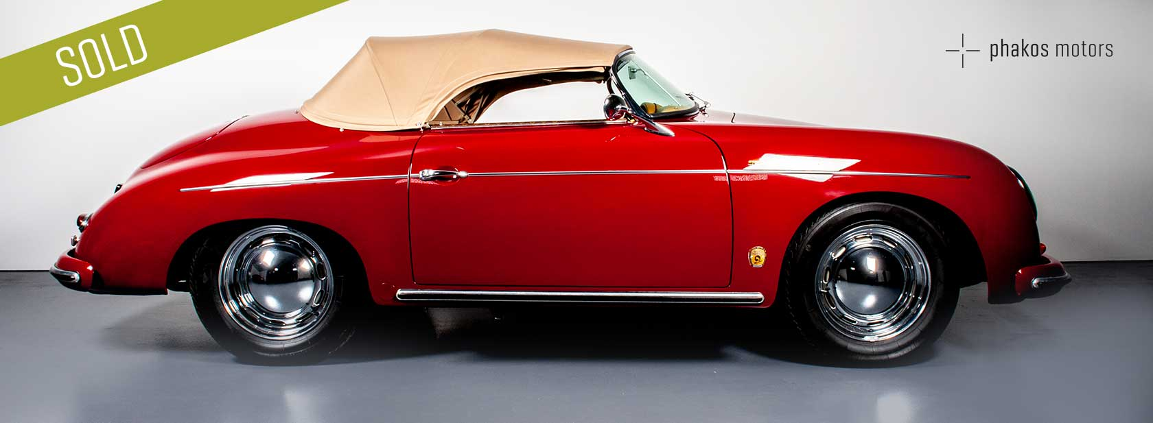 PORSCHE 356A SPEEDSTER - SOLD